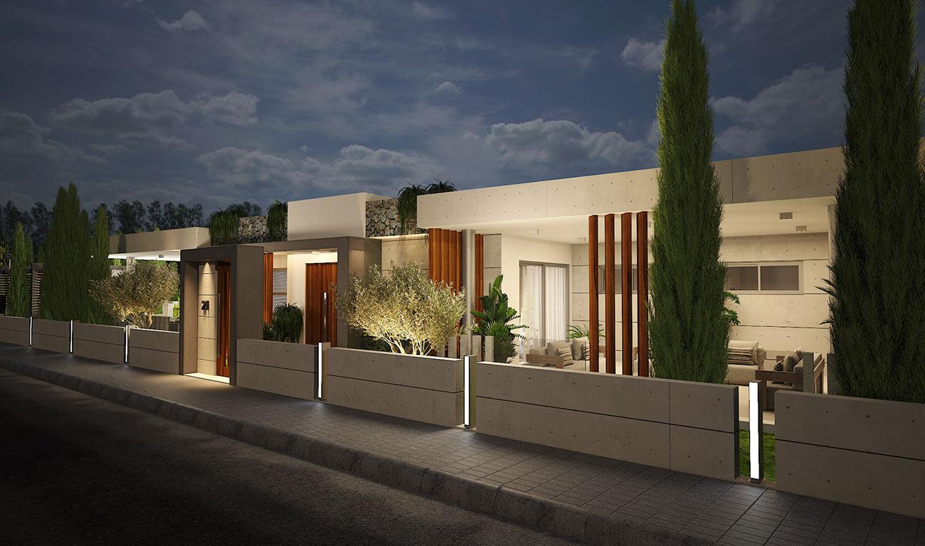 Villa 21 Korantinafacade project