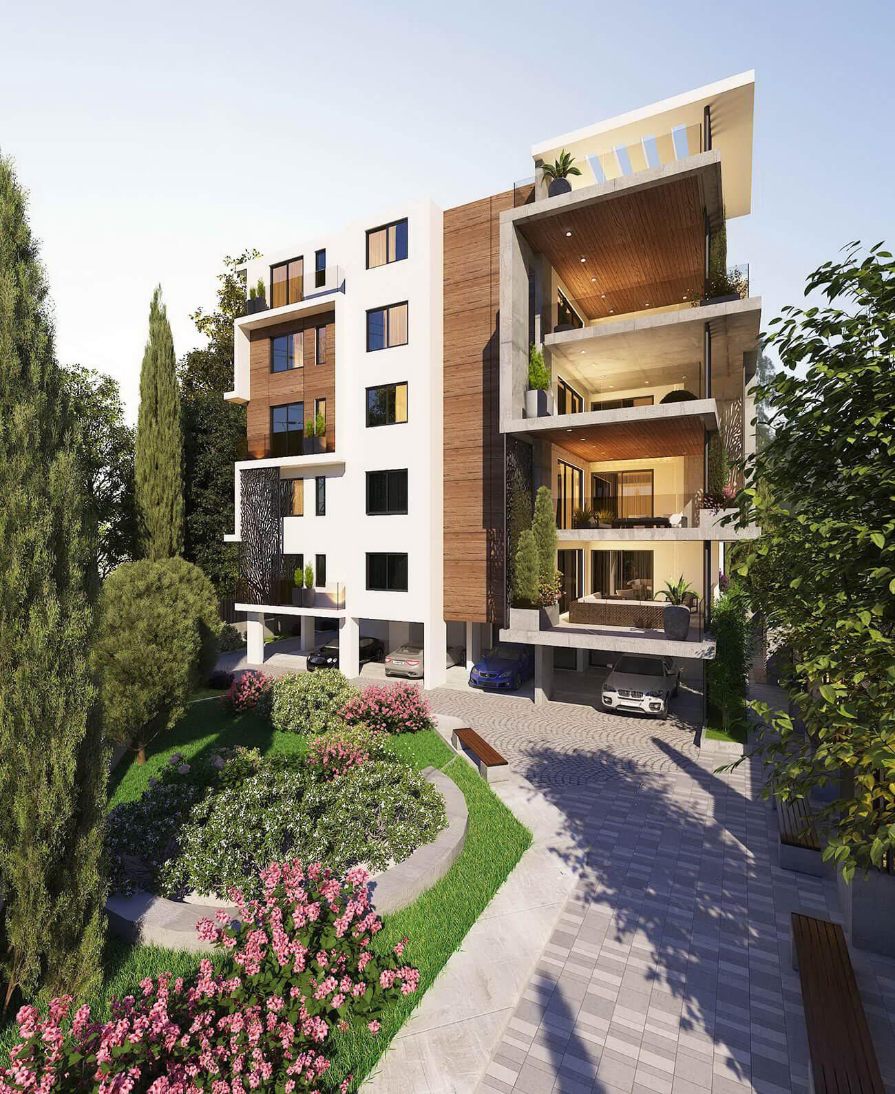 Yeroskipou Apartment Building Ajami Group