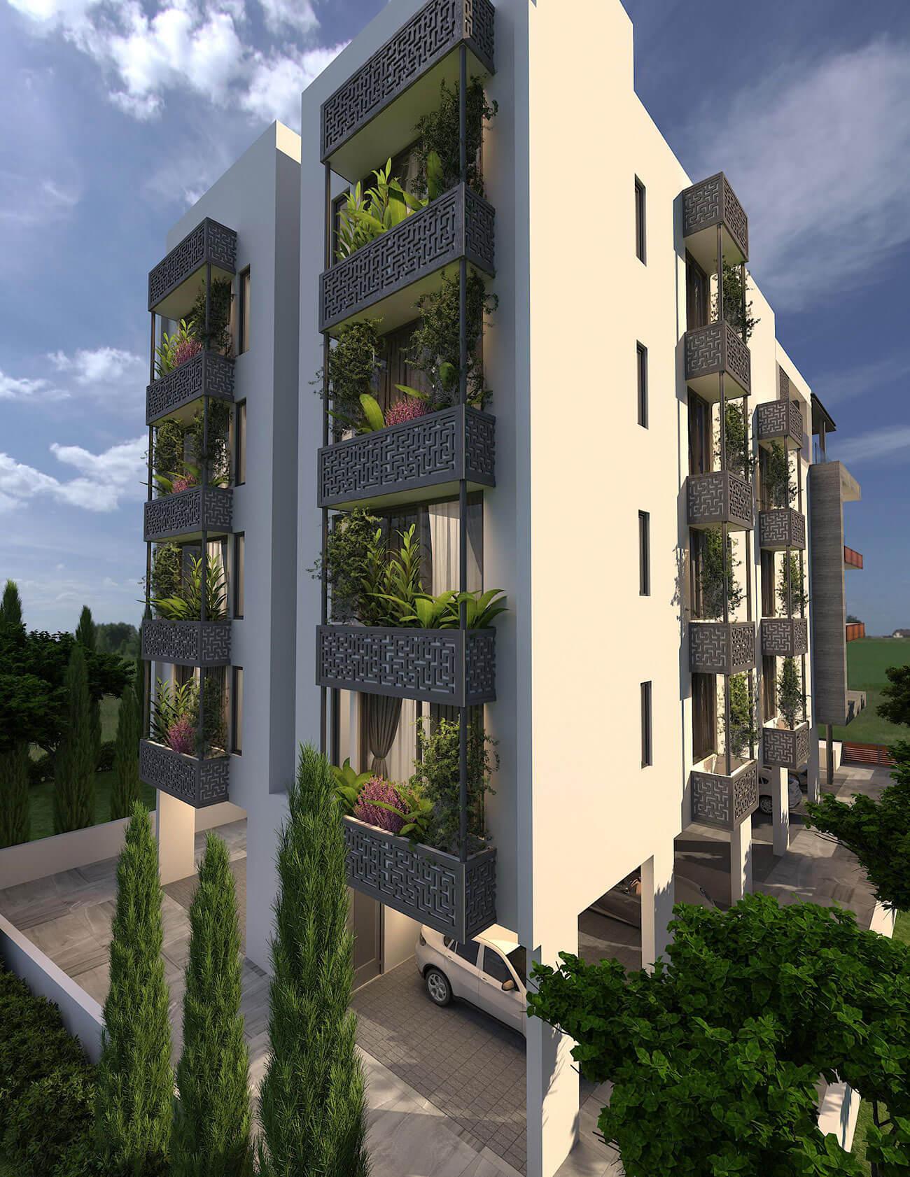 Pafos Apartment Building Ajami Group