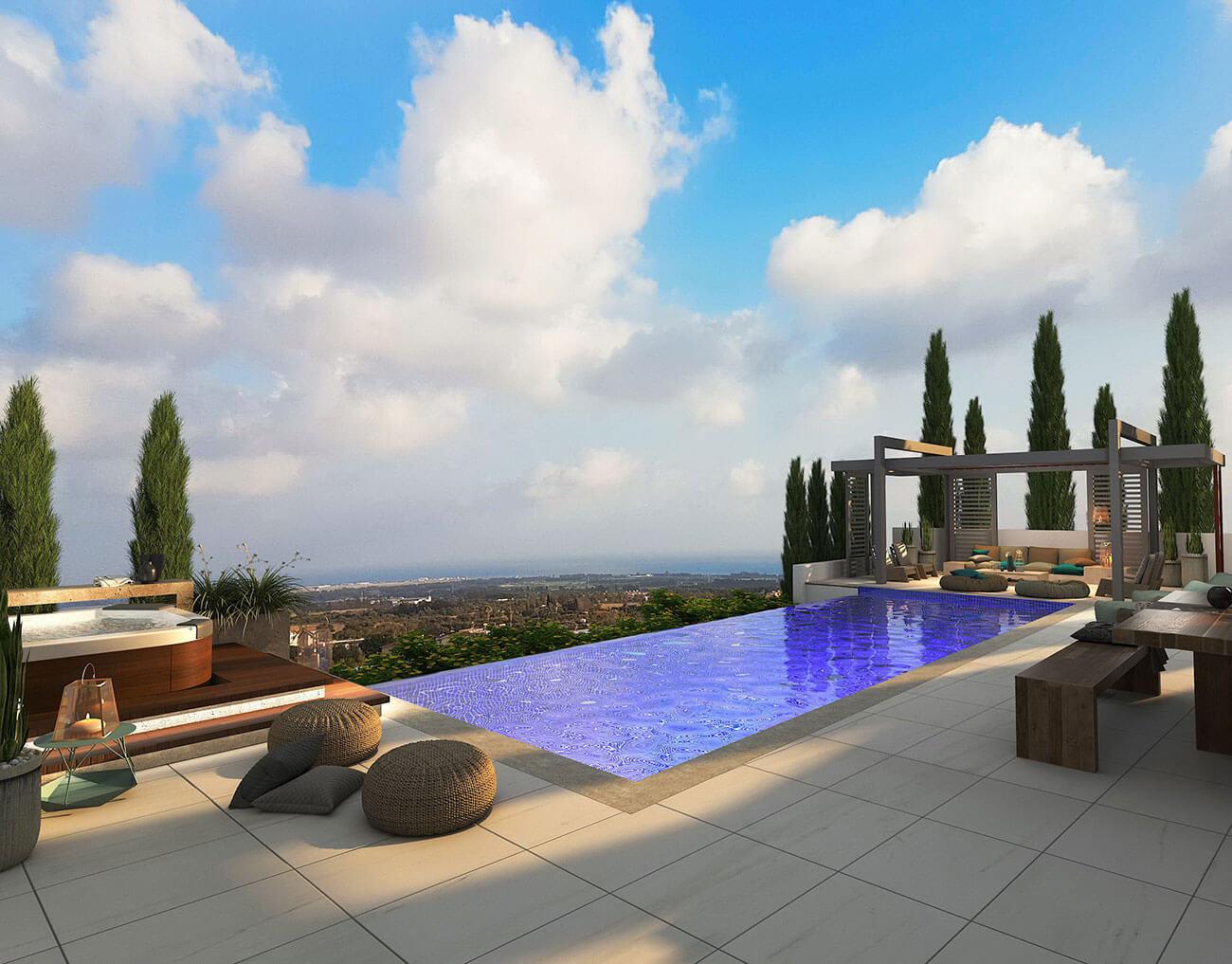 Villa Santa Monica Hadjivasilis pool