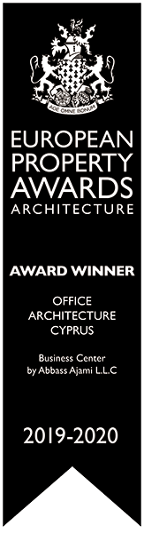 Award Winner Office architecture Cyprus Business Center by Abass Ajami