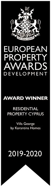 Award winner: residental property Cyprus Villa George by Korantina Homes