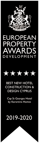 European Property Awards Development: Best New Hotel construction & design cyprus Cap St George Hotel By Korantina Homes